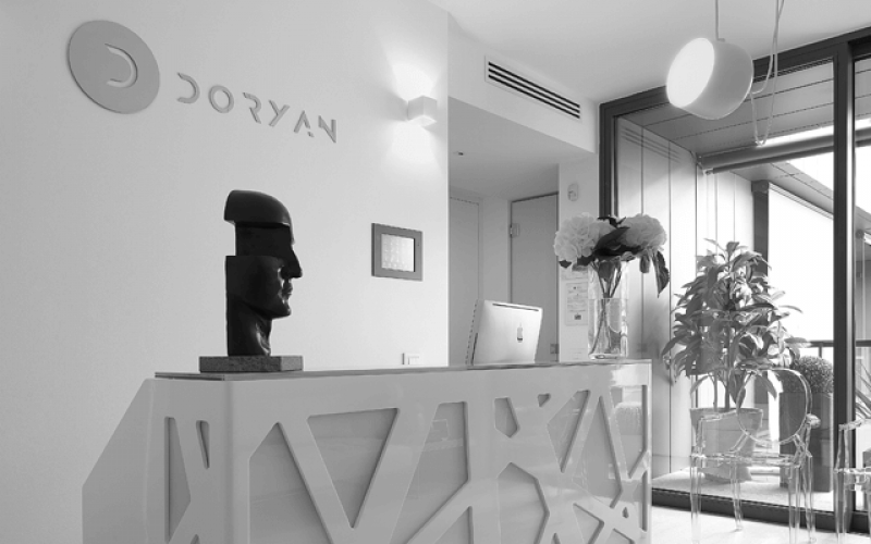 Reception Centro estetico Doryan Bergamo